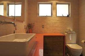 przykładowe oświetlenie w łazience - zdjęcie